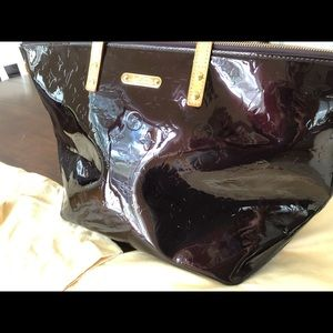 Louis Vuitton Monogram Vernis Bellevue handbag